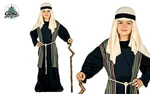 Costume pastorello arabo blu giudeo Presepe vivente bambino 10-12 anni