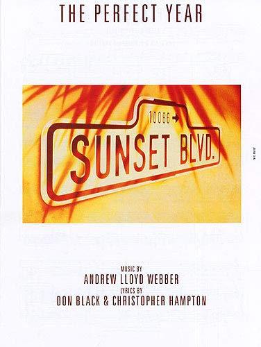Andrew lloyd webber: the perfect year. for pianoforte, voce e chitarra(con il cifrato degli accordi)