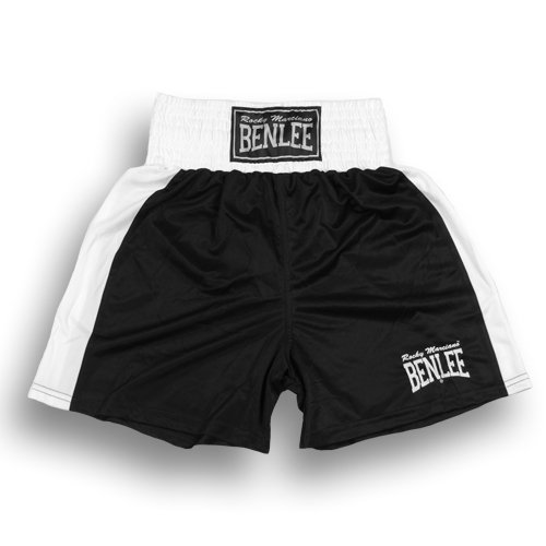BENLEE Rocky Marciano Herren Amateur Fight Trunks, black, XL, 199038