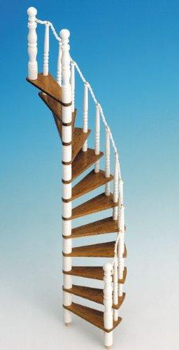 Wendeltreppe für das Puppenhaus, Bausatz