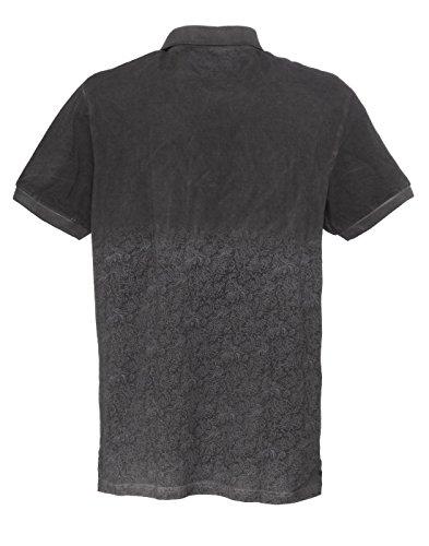 shockly Herren Poloshirt handbemalt 4X5503 Antrax