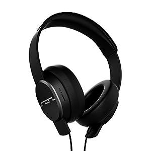 Sol Republic SOL-HP1601BK , Cuffie on-ear con Noise Cancelling, Cavo con 3 bottoni di controllo, Nero