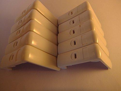 pinces-de-table-blanc-lot-de-10-23075
