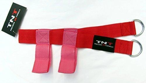 TNT (Rouge/rose) glute/Anal Sangle d'exercice Accessoire pour la salle de gym, Multi Gym Machine Fixation, yoga, Physio Formation pour les hommes/femmes