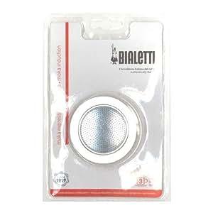 Bialetti - BIALETTI Filtre + joint - 3 Tasses MOKA IDUCTION - BIALETTI - FDS-015668