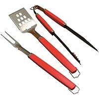 Set de utensilios para barbacoa de 3 piezas Perfect Chef