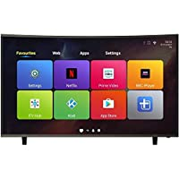 ElectrIQ 65-inch Curved 4K Ultra HD LED Android Smart TV with Freeview HD