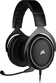 Corsair Hs50 Pro Stereo Cuffie Gaming con Microfono, Padiglioni Memory Foam Regolabili, Cancellazione del Rumo