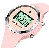 Bracelet Montre Pour Adolescent Enfant Fille Sport Mode Etanche Chronographe...