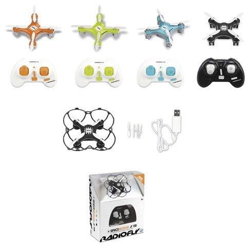 Ods mini drone, colore arancio, verde,azzurro,nero, 40002