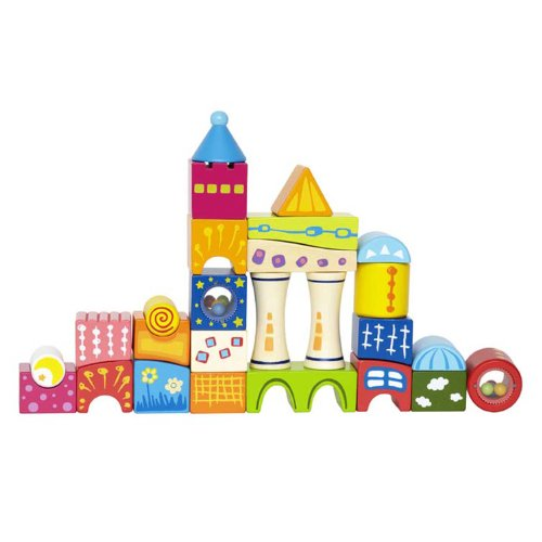 Hape E0418 - Fantasiebausteine Schloss