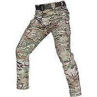 Xinwcanga Hombres Cargo Pantalones De Trabajo De Combate Clásico Casual De Exterior Pantalón