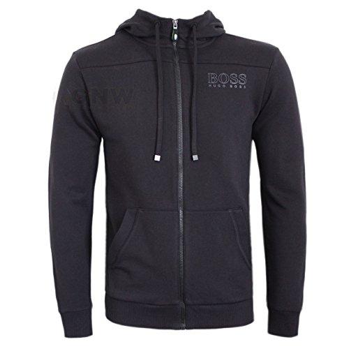 BOSS Hugo Sweat-Shirt à Capuche - Manches Longues - Homme Bleu Bleu - Noir - Larg