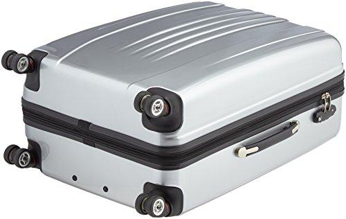 Packenger Premium Koffer 3 er-Set Stone M/L/XL, 78 cm, 68 Liter, Silber - 5