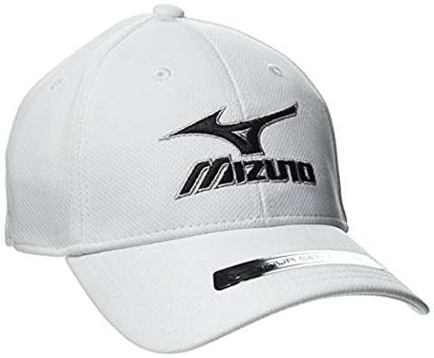 Mizuno Tour Fitted Cap (Pack of 6) - White, One Size