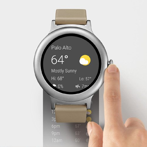 LG Watch Style Smartwatch Android Wear 2.0, Memoria ...