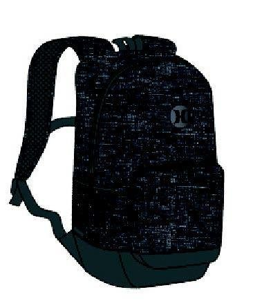 Hurley Blockade Heather Backpack Black/Black QTY