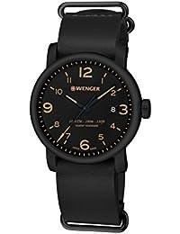 WENGER Herren-Armbanduhr WENGER URBAN METROPOLITAN 01.1041.135 Analog Quarz Leder WENGER URBAN METROPOLITAN 01.1041.135