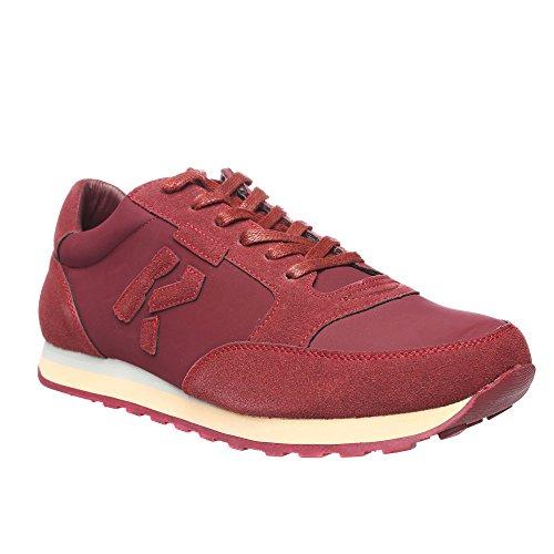 RIFLE Chaussures Homme Baskets, Plates Avec Lacets. mod. 162-M-318-448 Bordeaux