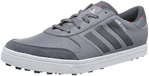 adidas Herren Adicross Gripmor Golfschuhe, Grau (Grey/Onix/White), 42 EU