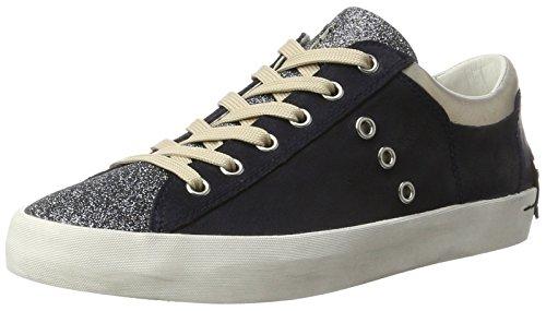 CRIME London Damen Lo Sneaker Blau (Navy)