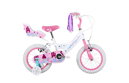 Sonic SON067 Girl's Princess Bike, 14 inch Wheel Best Price and Cheapest