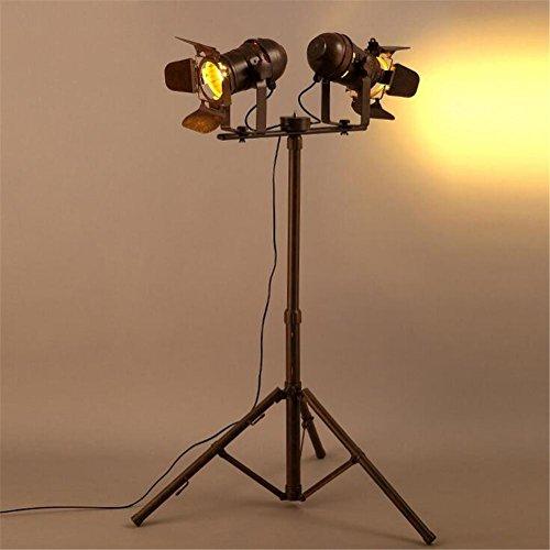 BIUODY Antico lettura Lampada da terra in metallo Piano Luce 220V H 135 cm x W 90 cm