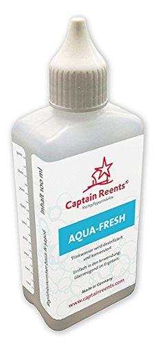 Wasseraufbereitung mit Aqua Fresh von Captain Reents • Trinkwasseraufbereitung der Premium Klasse • Geeignet für 1000 L Trinkwasser • 100 ML Chlorfrei Wassertank Reiniger