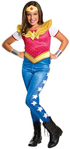 Rubie's 3620743 - DC Super Hero Girls Wonder Woman Kinderkostüm (Wonder Kostüm Gürtel Woman)