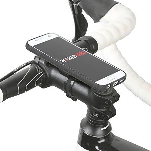 QuickMOUNT-30-Kit-fr-Samsung-Galaxy-S7-SM-G930F-Fahrradhalterung-Lifestyle-Case-mit-optionaler-IPx3-Schutzhlle-Wicked-Chili-Fahrradzubehr-mit-Ladekabel-und-Kopfhrer-Anschluss-matt-schwarz