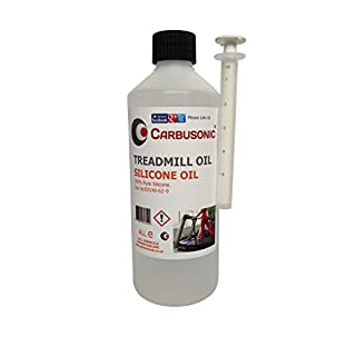 Carbusonic Treadmill Silicone Oil, Lubricant For treadmill decks 500ml