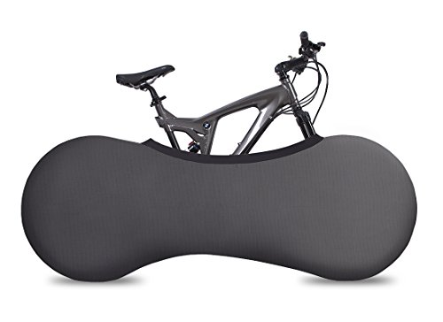 VELOSOCK Copertura da Interni per Biciclette – Dark Gray - La miglior Soluzione per Mantenere Pavimenti e pareti PRIVI di SPORCIZIA – Si Adatta al 99% di Tutte Le Biciclette per Adulti