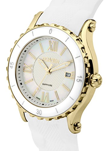 Roamer-Womens-AEU980-4723-PE-Quartz-Watch-with-Mother-Of-Pearl-Dial-Analogue-Display-and-Silicone-Strap