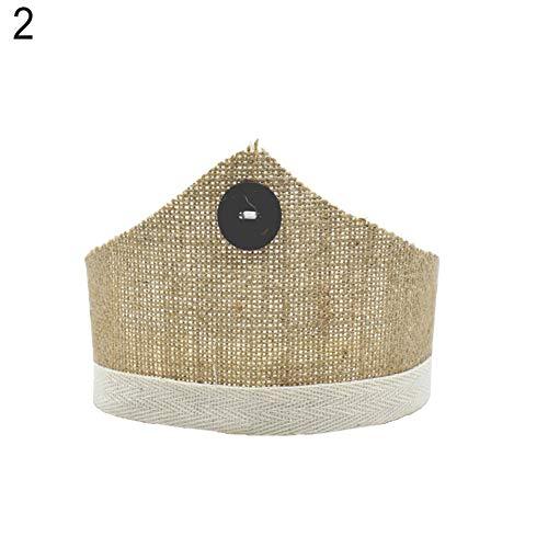 -Stirnband für Neugeborene/Baby-Krone, mit Raffhalter, Foto-Sutdio-Requisiten ()