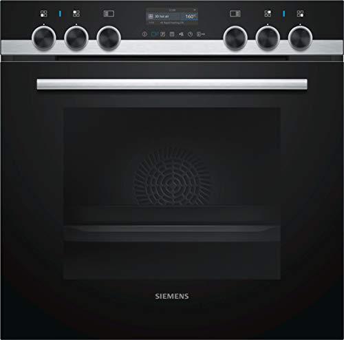 Siemens PQ561DB00 iQ500 Herdset, edelstahl/schwarz