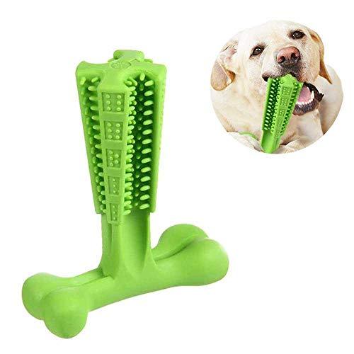 Kobwa Dog Chew spazzolino di pulizia, morso giocattoli per cani, silicone atossico Doggy spazzola stick chewing Toy Pets Care, spazzole per l\' igiene orale per cani