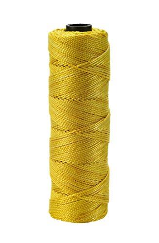 Gegenseitige Industries 14661–138–275Nylon Mason Bindfäden, 1/4lb. Twisted, 18x 275', Glo gelb (6Stück) (Mason Bindfäden)