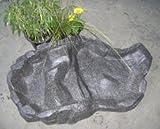 Bachlaufschale grauer Granit rauhe Oberfläche (GS96)