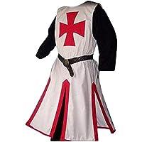 LiangZhu Tunica Medievale per Uomo Le Doppie Punte Camicia Stile  Attrezzature da Palco Costume Cosplay di 29dee4a83afc