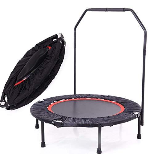 Fitness Mini-Trampolin-100Cm/40 Zoll Professionelles Fitnessstudio Rebounder Für Körperübungen und Cardio-Workouts, Maximalgewicht Von 150Kg/330Lbs,Withguardrail