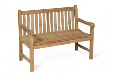GARTENMÖBELSERIE Solo | Sessel, Bank und Tisch aus Teak