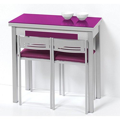 Mesa de cocina de 80x40 cm con apertura