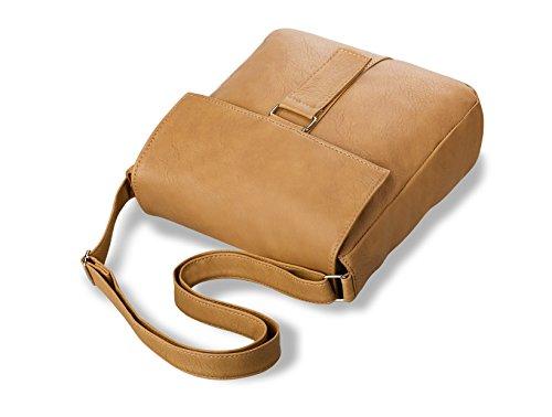 ABAKUS Borsa Messenger, marrone (marrone) - 399 marrone