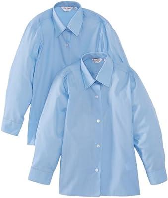 Trutex Ls Easy Care - Paquete de 2 Blusas con mangas largas para niñas