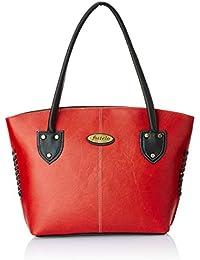 Fostelo Women's Handbag (Red) (FSB-364)