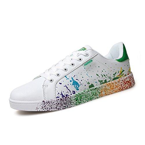 Ziitop uomo scarpe da ginnastica basse sportive sneakers fitness interior casual all'aperto scarpe da passeggio unisex