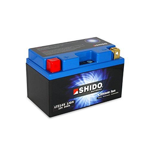 shido ltz14s Lion-S batería de litio, Litio Azul (Precio incluye euros 7,50pfand)