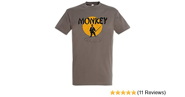 T-shirts Tops & Tees Martial Arts Kung Fu Vintage Cult T Shirt Design T Shirts Casual Cool Monkey Magic Retro Tv Series T-shirt