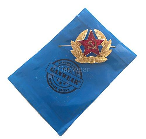 Ganwear(R) Russian Soviet Red Army Star USSR Kokarda Cossack Trapper