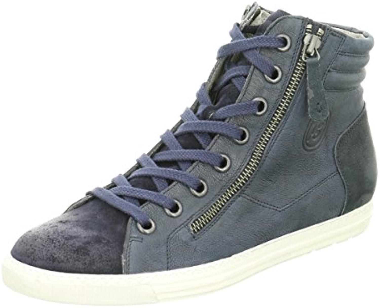 Paul Green Damen Sneaker 105 4213-106 Blau 73404